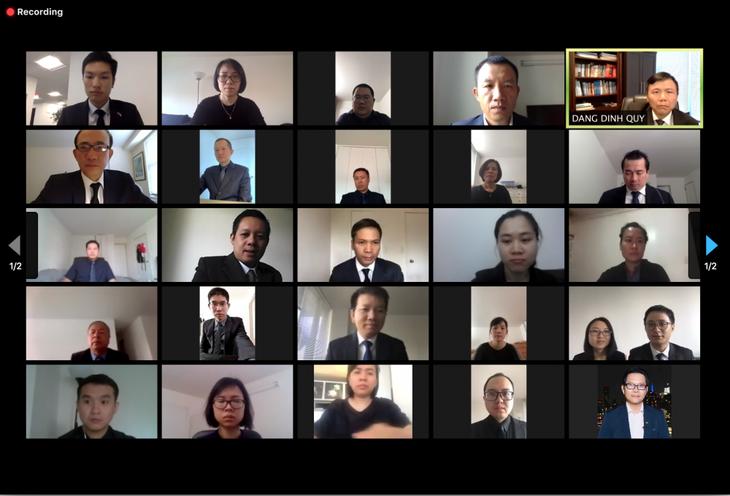 Upacara penghormatan terakhir kepada mantan Sekjen Le Kha Phieu di PBB dan AS - ảnh 1