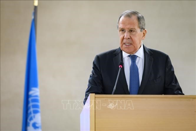 Rusia menegaskan kembali komitmen terhadap resolusi PBB tentang permufakatan nuklir Iran - ảnh 1