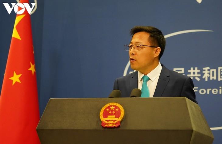Tiongkok mengimbau kepada AS supaya mendengarkan suara komunitas internasional - ảnh 1