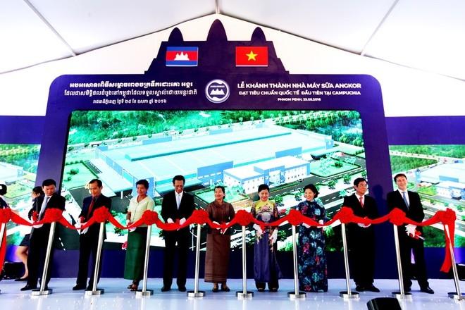 Angkor Milk – Brand persahabatan Vietnam – Kamboja - ảnh 2