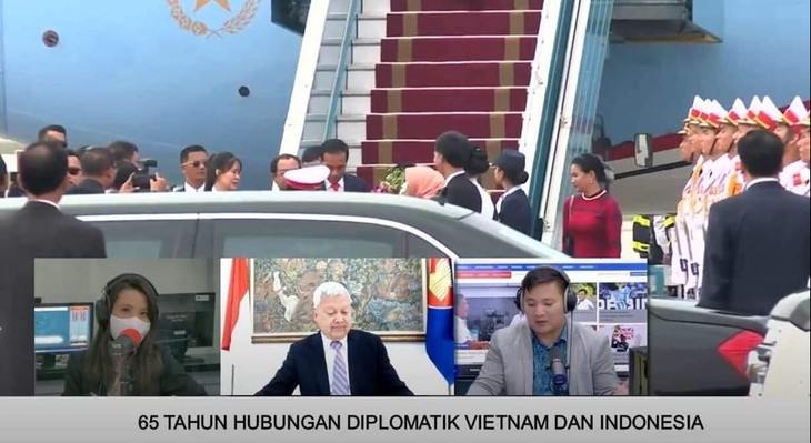 Dialog Radio Interaktif Memperingati HUT ke-65 Penggalangan Hubungan Diplomatik Vietnam-Indonesia - ảnh 2