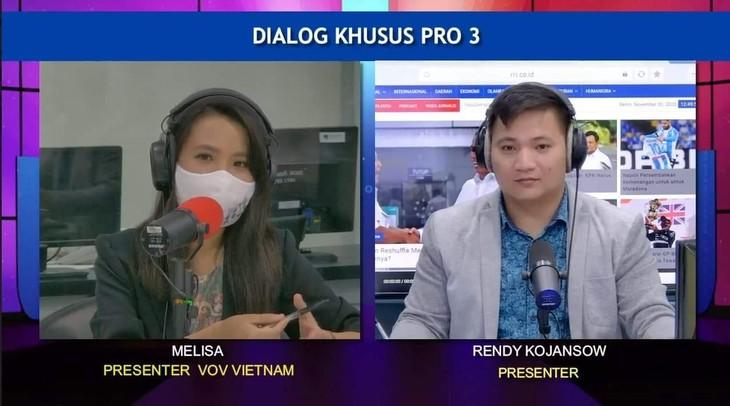 Dialog Radio Interaktif Memperingati HUT ke-65 Penggalangan Hubungan Diplomatik Vietnam-Indonesia - ảnh 3