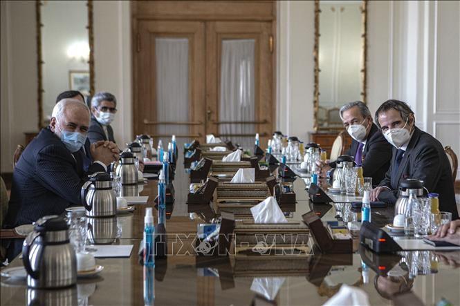 Iran Beri Peringatan tentang Penghentian Sementara Kesepakatan yang Baru Dicapai dengan IAEA - ảnh 1