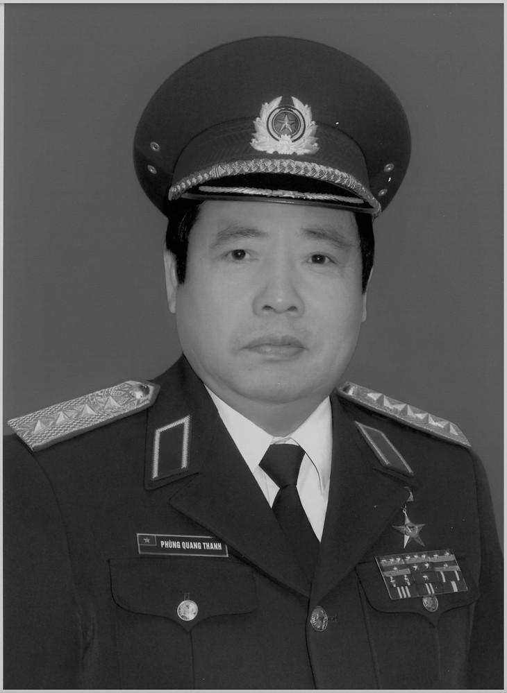 Pengumuman Acara Pemakaman Jenderal Phung Quang Thanh - ảnh 1