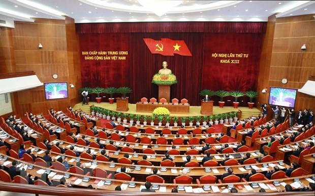Perkuat Langkah, Perluas Skala Pembangunan, dan Rektifikasi Partai Komunis Vietnam - ảnh 1