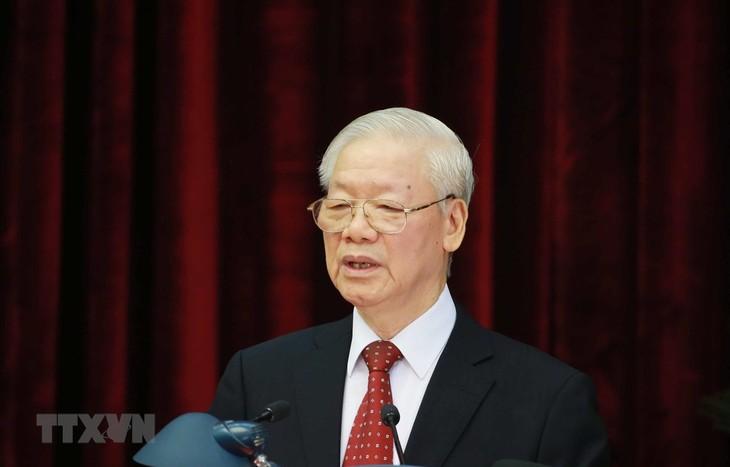 Perkuat Langkah, Perluas Skala Pembangunan, dan Rektifikasi Partai Komunis Vietnam - ảnh 2