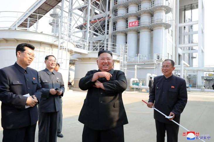 Kim Jong Un makes first appearance in nearly 3 weeks: KCNA - ảnh 1