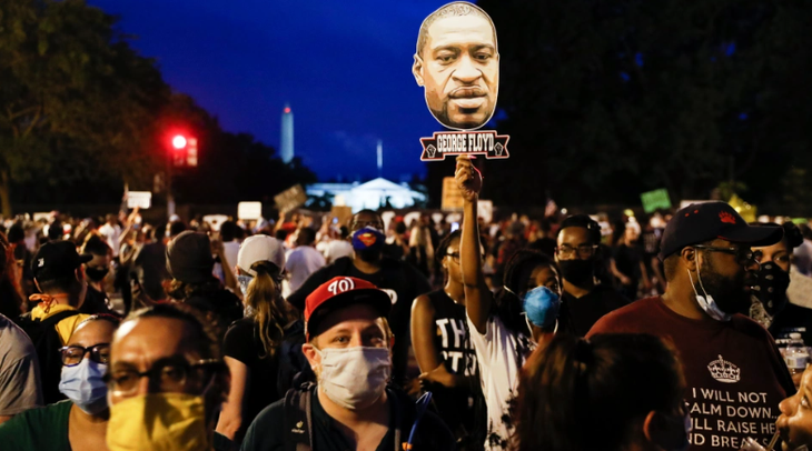 Anti-violence demonstrations spread in US - ảnh 1