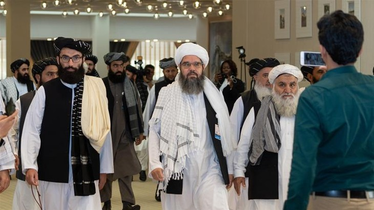 Taliban negotiators in Doha for talks with Afghan government  - ảnh 1