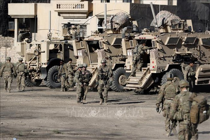 US announces reduced military presence in Iraq - ảnh 1