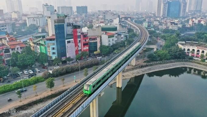 Hanoi metro test run goes 'relatively well': authorities - ảnh 1