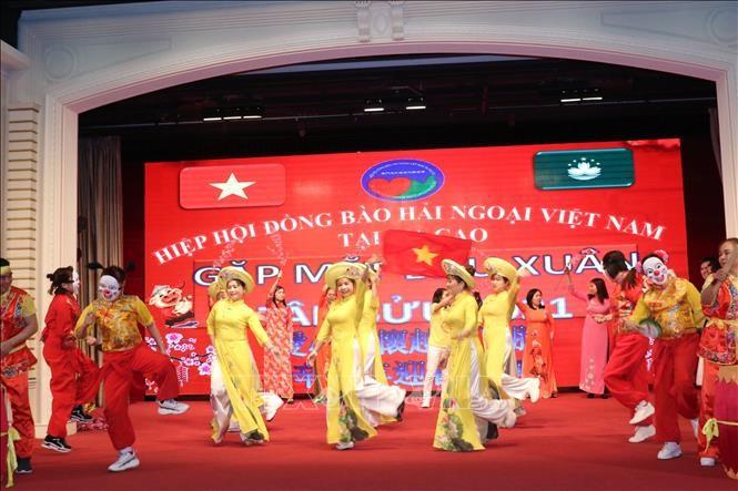 Vietnamese expats in Macau (China) gather for Tet - ảnh 1