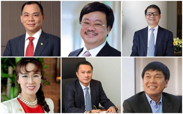 Forbes names six Vietnamese billionaires in latest rich list - ảnh 1