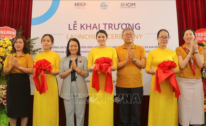 One-stop service office for returning migrant women opens in Hai Phong  - ảnh 1