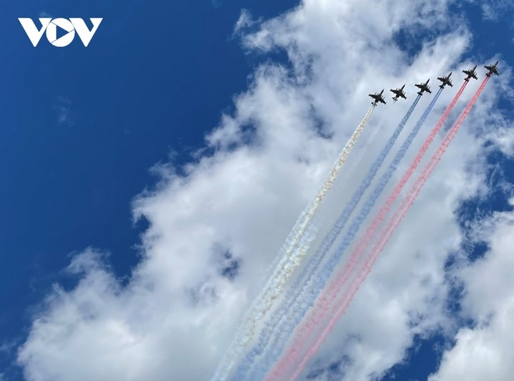 Moscow's Red Square gets full-dress rehearsal for Victory Day parade - ảnh 1