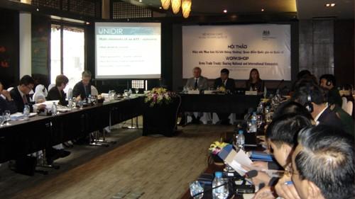 Вьетнам поддерживает международные усилия, направленные на разоружение - ảnh 1