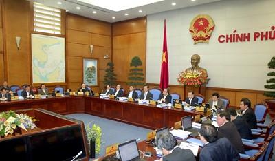 Очередное правительственное заседание по подведению итогов работы в феврале 2012 - ảnh 1