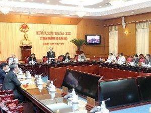 Постоянный комитет вьетнамского парламента обсудил 3 законопроекта - ảnh 1