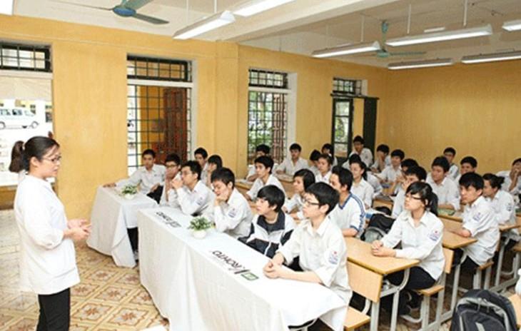 Во Вьетнаме реализуется проект дистанционной проверки зрения школьников - ảnh 1