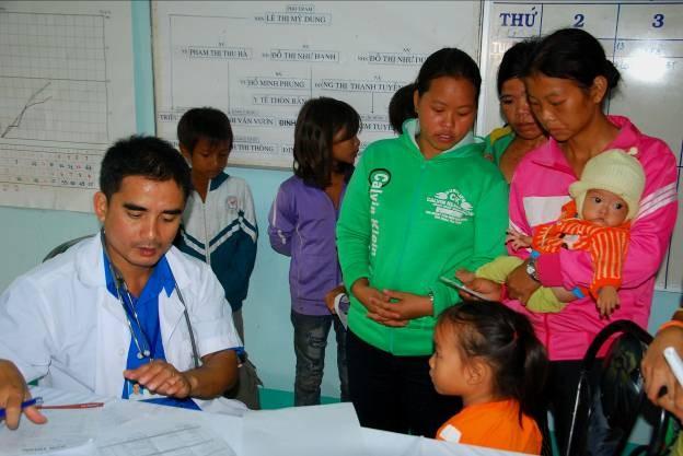 Предоставление услуг по медосмотру и лечению малоимущим провинции Жалай - ảnh 1