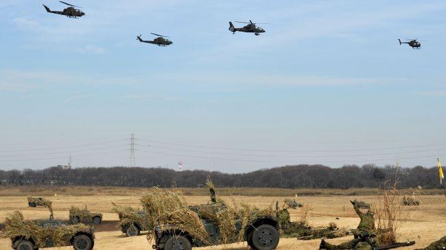 Япония провела военные учения по защите островов - ảnh 1