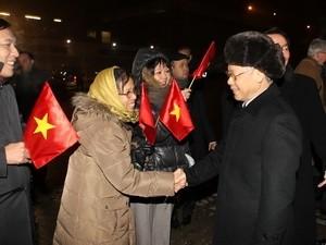 Генеральнгый секретарь ЦК КПВ Нгуен Фу Чонг начал государственный визит в Италию - ảnh 1