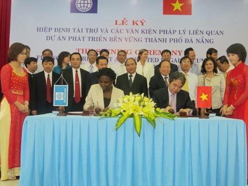 В Дананге подписано соглашение о финансировании проекта устойчивого развития города - ảnh 1