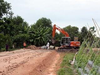 Строительство новой деревни в хошиминском пригородном уезде Кучи - ảnh 1