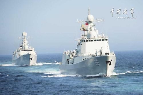 Россия и Китай проводят военно-морские учения - ảnh 1