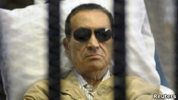Выпущен на свободу экс-президент Египта Хосни Мубарак - ảnh 1
