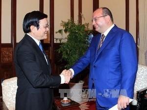 Президент СРВ Чыонг Тан Шанг принял гендиректора ИТАР-ТАСС - ảnh 1