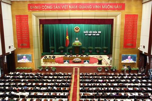 Завершилась первая неделя работы 6-й сессии Национального собрания 13-го созыва - ảnh 1