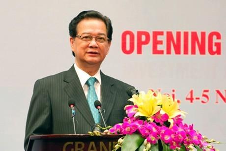 В Ханое открылся экономический форум Вьетнама и стран Ближнего Востока и Северной Африки - ảnh 1
