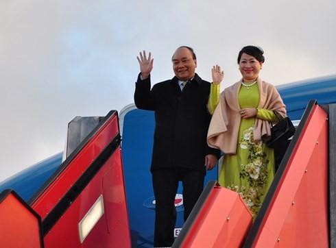 Премьер-министр Вьетнама начал официальный визит в Данию - ảnh 1