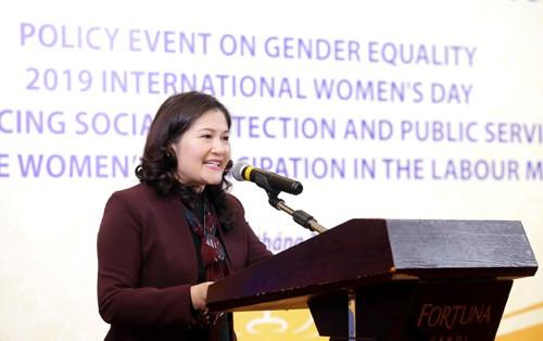 Активизация политики обеспечения социального благосостояния населения ради гендерного равенства  - ảnh 1