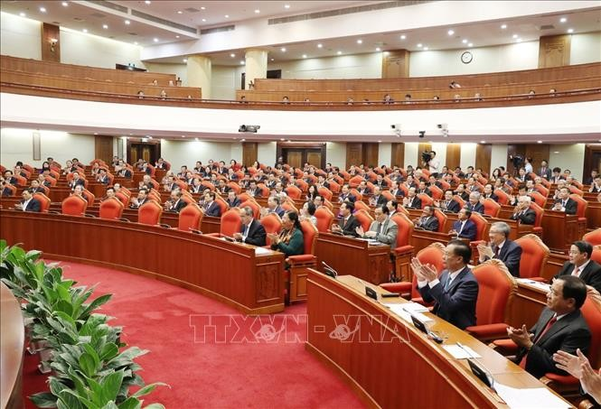 Завершился 10-й пленум ЦК КПВ 12-го созыва - ảnh 1