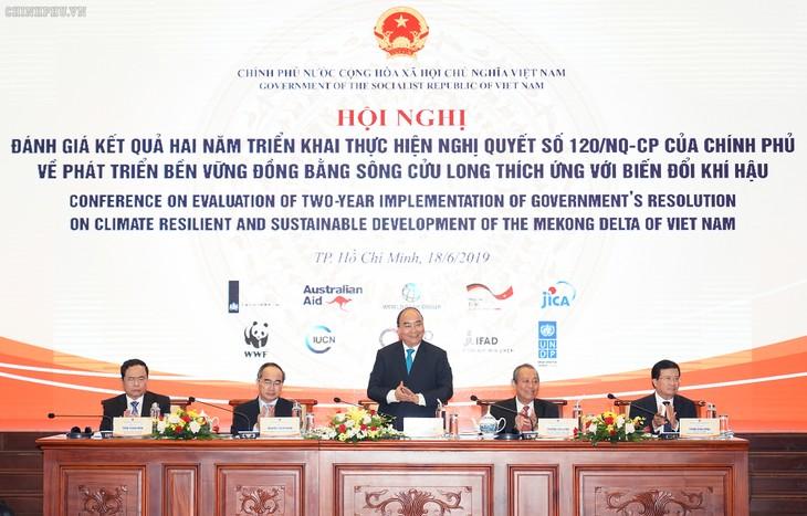 Подведены итоги 2-летнего выполнения постановления правительства об устойчивом развитии Дельты реки Меконг  - ảnh 1