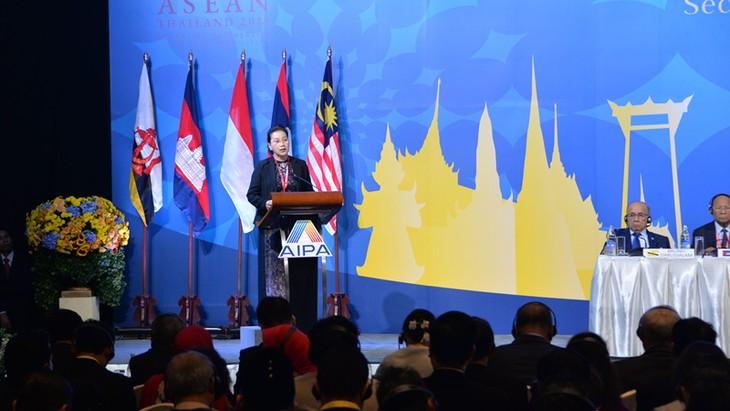 Председатель Нацсобрания Вьетнама Нгуен Тхи Ким Нган официально стала председателем АИПА-41 - ảnh 1