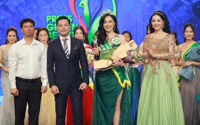 Представительница VTV завоевала титул «Мисс Press Green Beauty 2019» - ảnh 1