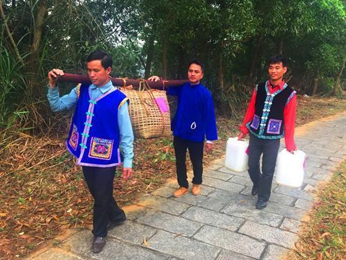 Свадебные обряды народности Буи на северо-западе Вьетнама - ảnh 2