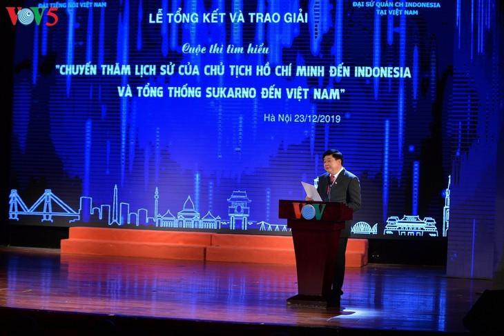 Награждены победители викторин об отношениях между Вьетнамом и Индонезией - ảnh 6