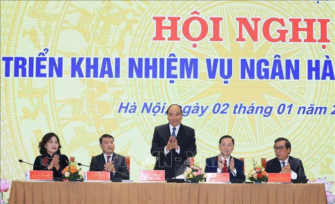 Премьер-министр Вьетнама принял участие в конференции по определению задач Госбанка  - ảnh 1