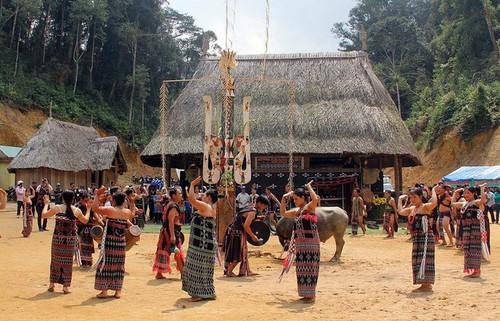 Среди представителей народности Кату популярен праздник, посвященный духу Леса - ảnh 1
