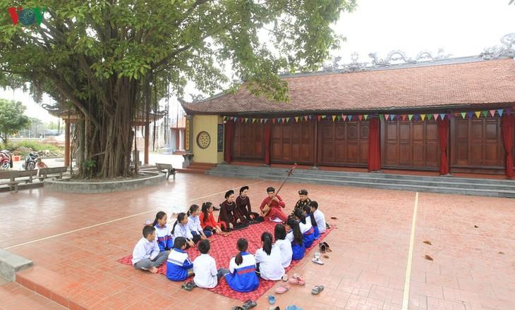 Весной слушать «качу» в деревне Донгмон - ảnh 1