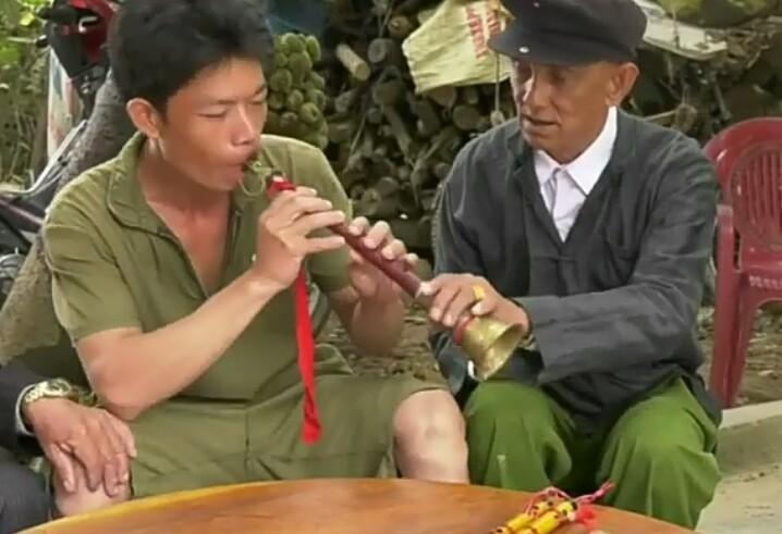 Флейта Пиле – традиционный музыкальный инструмент народности Зяй - ảnh 2
