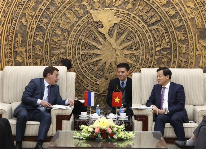 Расширение сотрудничества между Вьетнамом и Россией в борьбе с коррупцией - ảnh 1