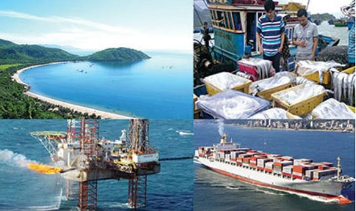 Генеральный план устойчивого развития морской экономики Вьетнама  - ảnh 1