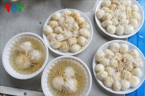 Варёные рисовые лепёшки на праздник холодной пищи - ảnh 4