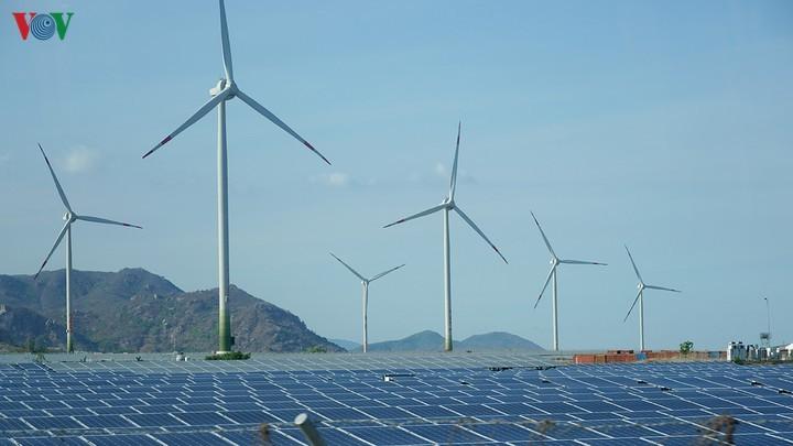 В провинции Ниньтхуан началась реализация проекта возобновляемой энергетики стоимостью 12 трлн донгов  - ảnh 1
