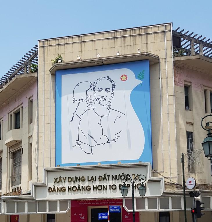 Произведения искусства, посвящённые президенту Хо Ши Мину - ảnh 1